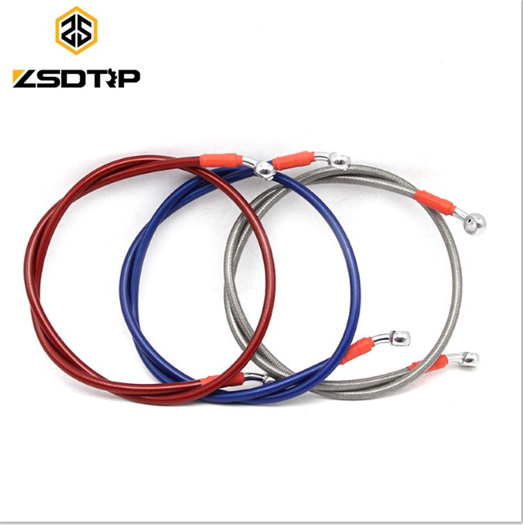 Racing Universal 800mm-1400mm Motorcycle Dirt Bike Braided Steel Hydraulic Reinforce Brake line Clutch Oil Hose Tube