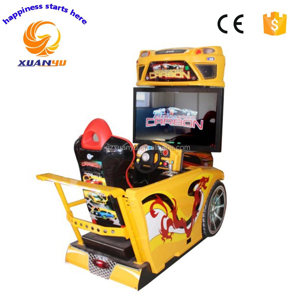 chaude pas cher prix arcade simulateur de conduite de formation jeu de course de voiture machine. Black Bedroom Furniture Sets. Home Design Ideas