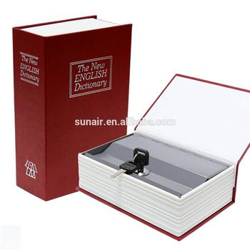 Disguised Book/secret Hidden Storage Compartment Book Safe With Key Lock -  Buy Hidden Secret Diversion Dictionary Book/secret Hidden Fireproof