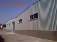 Modern design earthquake resistant building for warehosue