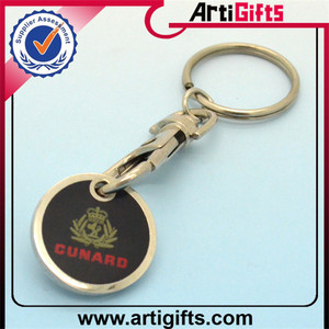 Free samples token coin holder key chain