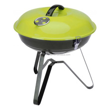 Bowl Shaped BBQ Grill Stand - Blue