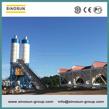 SINOSUN 25-180 m3/h Stationary Concrete Mixing Plant,Mobile Concrete Batching Plant