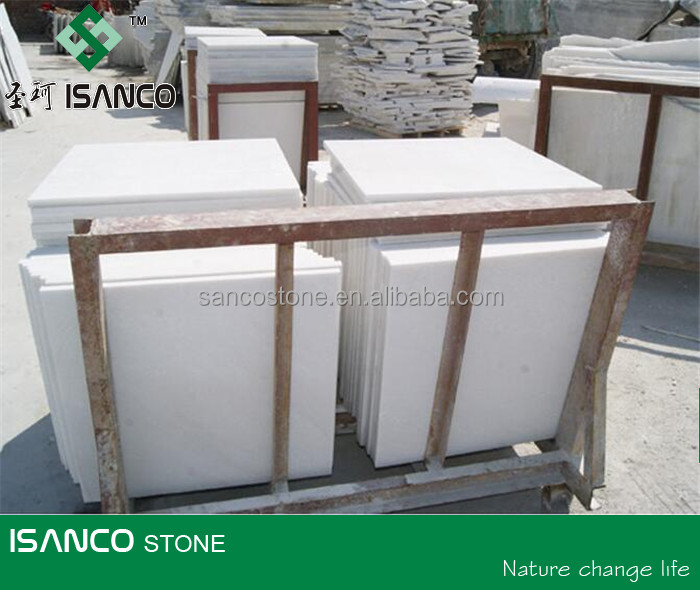 Shandong Natural Snow White Marble Factory Wholesale Price
