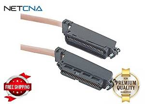 New Amphenol MP-5O180RJ45A-006 Cat3 25-Pair Telco Breakout Cable RJ21 Male t..