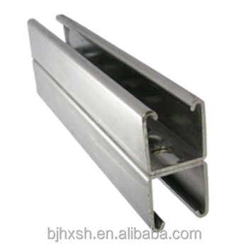 Wow unbelivable Stainless steel unistrut double c lipped channel