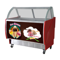 Ice-lolly Freezer Display Refrigerator/Ice Cream Show Case/Ice Cream Display Freezer