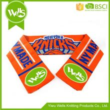 Wholesale prices simple design mini fans football scarf with different size