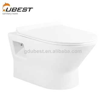 Wall Hung Toilet Dimensions Ceramic Round European Style Toilet