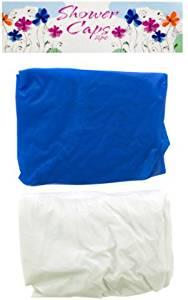 2 Pack Shower Caps Assorted Colors 18 pcs sku# 1865525MA