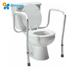 Toilet seat frame and toilet rails handicap Toilet chair for elderly