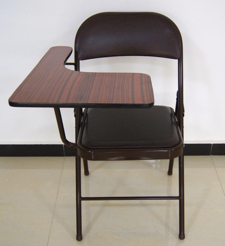 Folding Study Chair With Writing Pad Buy Folding Study
