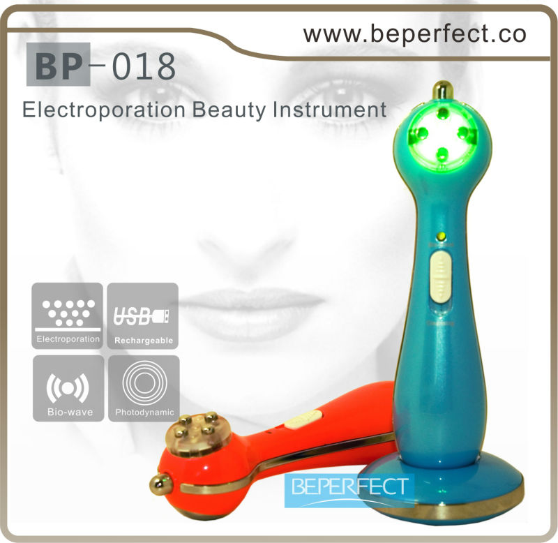 Beauty fashion rechargeable RF therapy skin rejuvenation beauty home device