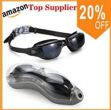 Amazon top supplier!Wholesale No Leaking Anti Fog Triathlon Children Swim Goggles Clear Silicone Swimming Goggles