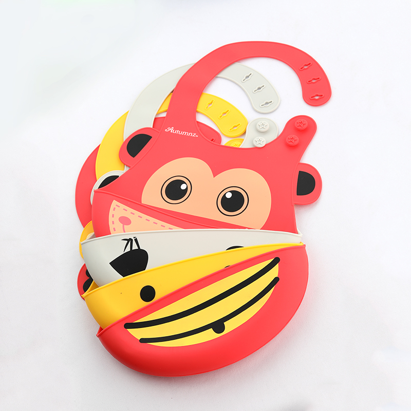 Alibaba.com / Wholesale 2019 new design waterproof silicone baby bibs with catcher