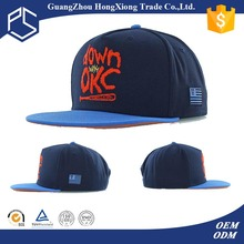 Europe nice 3d sewing logo short bill flexfit snapback cap
