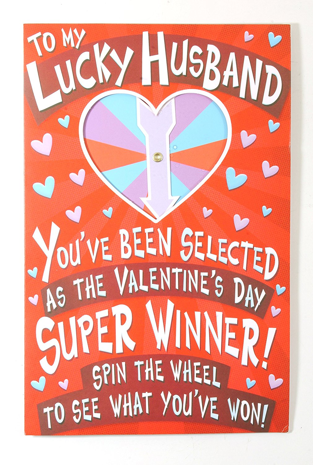 Buy valentine card husband funny to my husband on valentines day valentine card to husband funny to my lucky husbandamerican greetings kristyandbryce Images