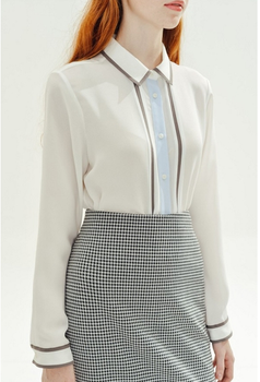 2017 Latest Formal Skirt Ladies Uniform Designs Patterns Office ...