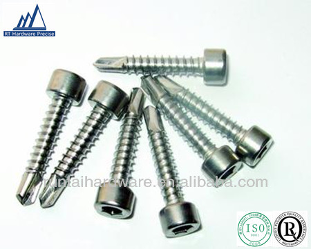 Hex Socket Cap Head Self Drilling Sheet Metal Screws