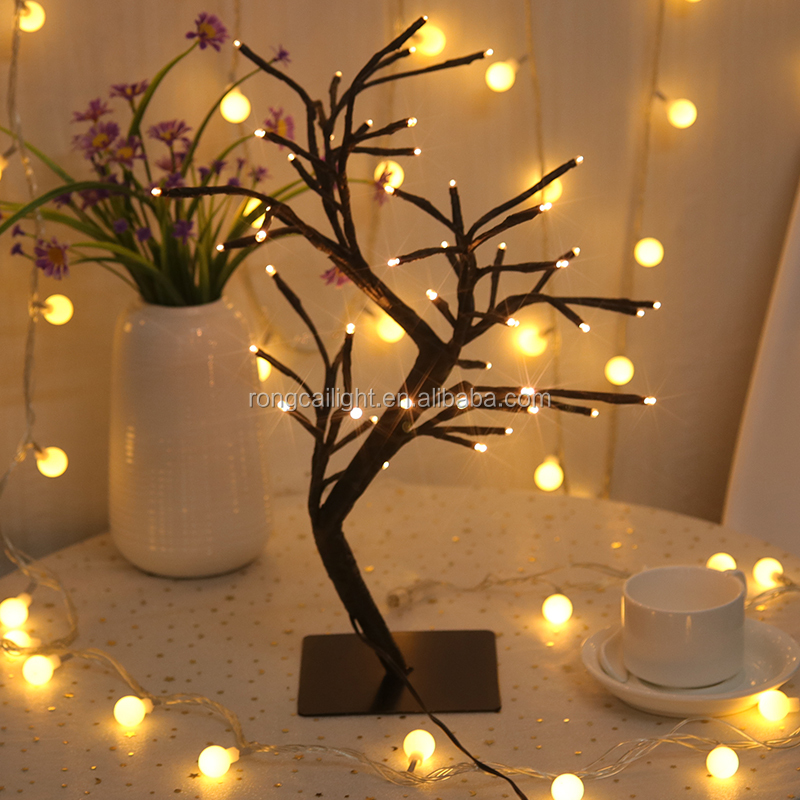 Home Decoration Led Tree Light Night Lights Bedroom Table Lamp Product On Alibaba