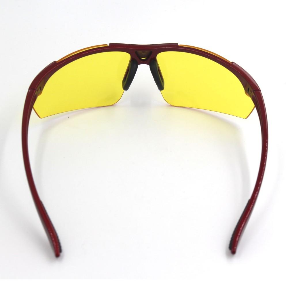 Sampul Kuning Tinted Lens Anti Silau Hd Visi Night View Mengemudi Kacamata Vision Glasses Malam Hari Warna