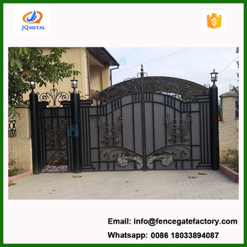 Security Entrance Iron Fancy Gate Boundary Wall Gate Design Buy