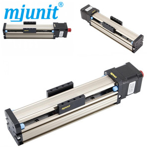 Mjunit Precision screw slide table screw electric manual MJ42 screw whole set z axis with self-locking 150mm stroke