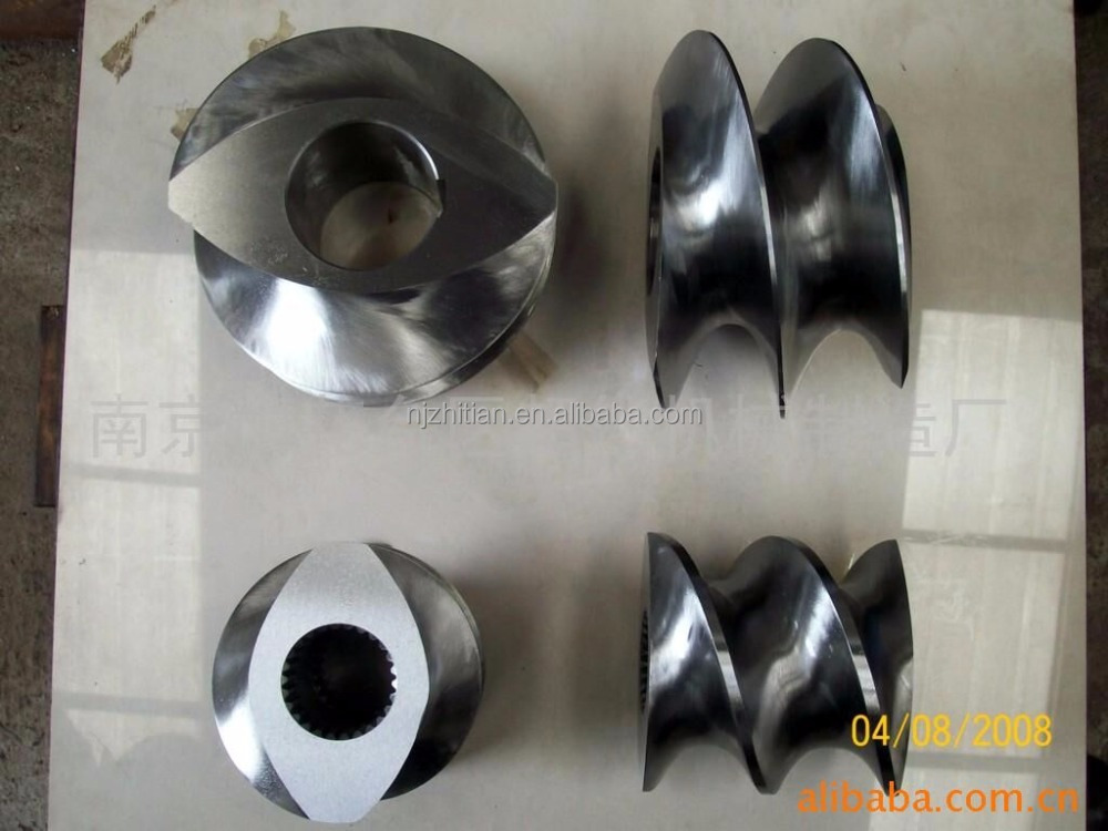 type20 Extrusion bimetallic screw cylinder for single screw extruder screw elements