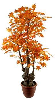 Di Alta Qualità Decorativo Artificiale Pianta Verde Albero Di Acero  Giapponese/fakel Pianta Verde Albero