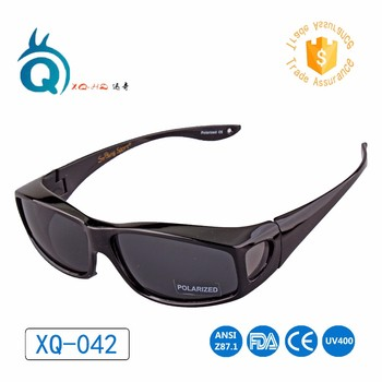 OEM Wear Over nearsighted glasses Outdoor sports Sunglasses Fit Over myopia Polarized Sun Eyewear Glasses