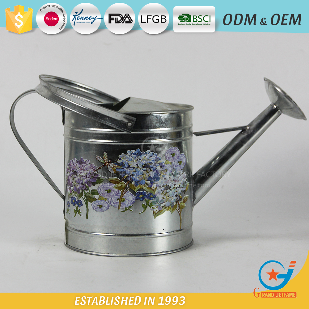Supplier Zinc Watering Can Zinc Watering Can Wholesale
