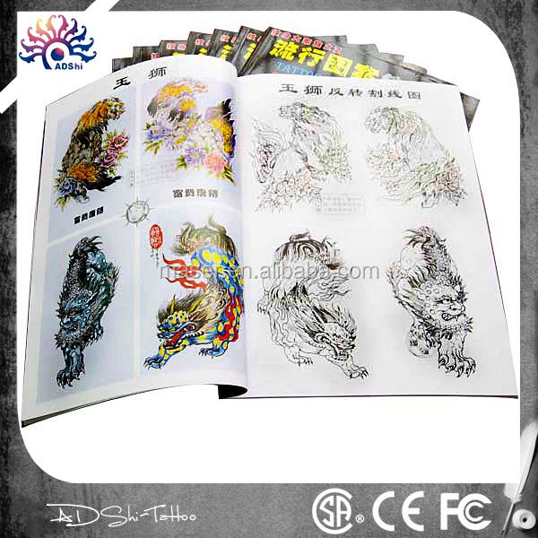 24 Boeken Per Set Fantastisch Aangepaste Afbeeldingen Tattoo Boeka4 Formaat Nieuw Ontwerp Tattoo Flashrijke Inhoud Tatoeage Schetsboek Buy Tattoo