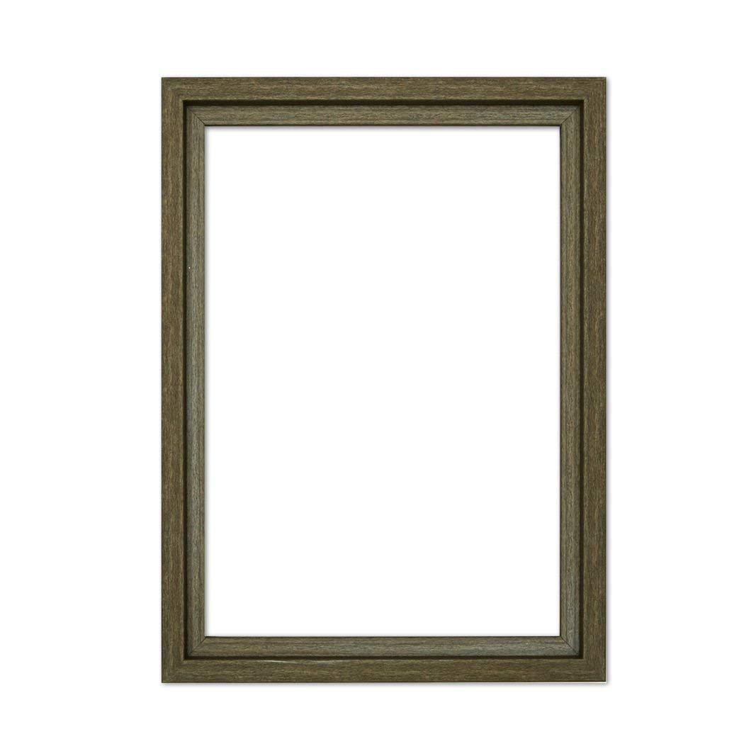 "Paintings Frames L Shape Picture/Photo/Poster Frame With An MDF Backing Board Ready To Hang-With A High Clarity Styrene Shatterproof Perspex Sheet Colour Frame 18""X12"" Dark Grey"