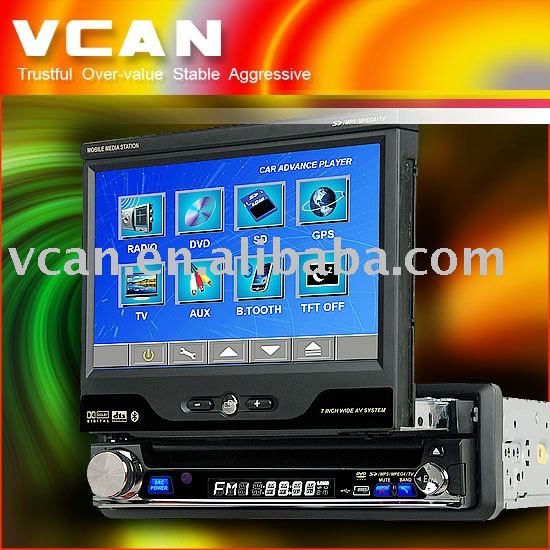 7 Inch Touch Screen car DVD player