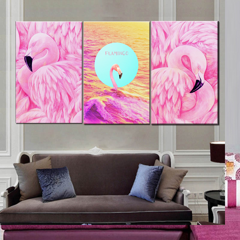 Flamingo Painting, Flamingo Painting Suppliers and Manufacturers at ...