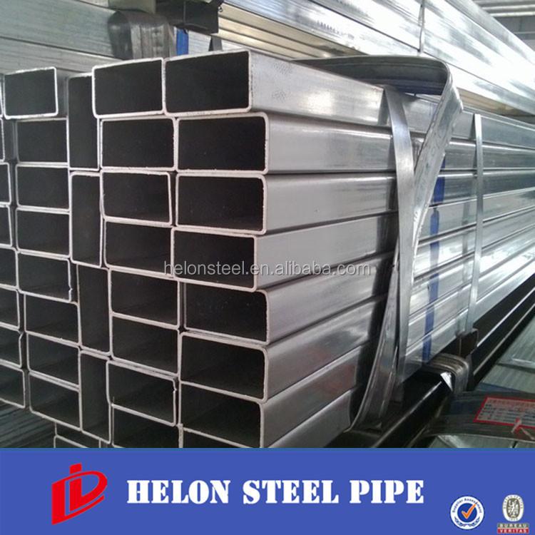 80x100 galvanizado tubo de acero cuadrado estructura de - Tubo cuadrado acero ...