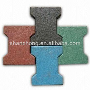 Dog Bone Sbr Rubber Tiles Buy Kid Rubber Tiles Rubber