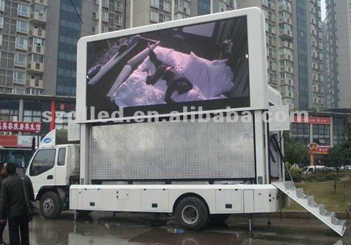 car audio display boards super bright led display car digital outdoor led display board