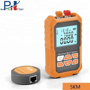 Optical Power Multi Meter/Visual Fault Locator / Frequency Identifier / Cable Tester with Lithium Battery USB Micro Charging