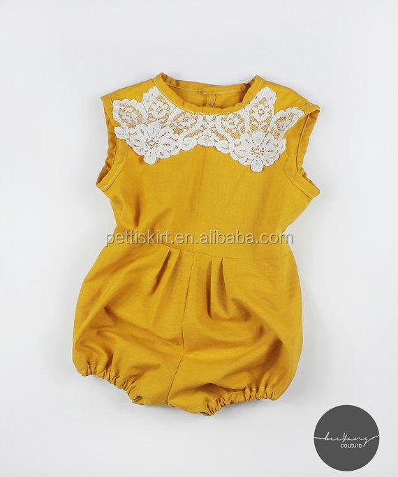 Bebé Trajes Punjabi Diseños Mamelucos Niñas Para Niños Oro Mostaza ...
