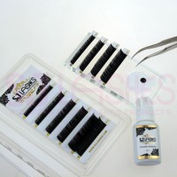 Fast Drying Long Lasting Eyebrow Glue Eyelash Extensions Strong Black Mink Eyelashes Adhesive
