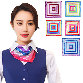 TOP SALE special design 100 silk satin square scarf for wholesale