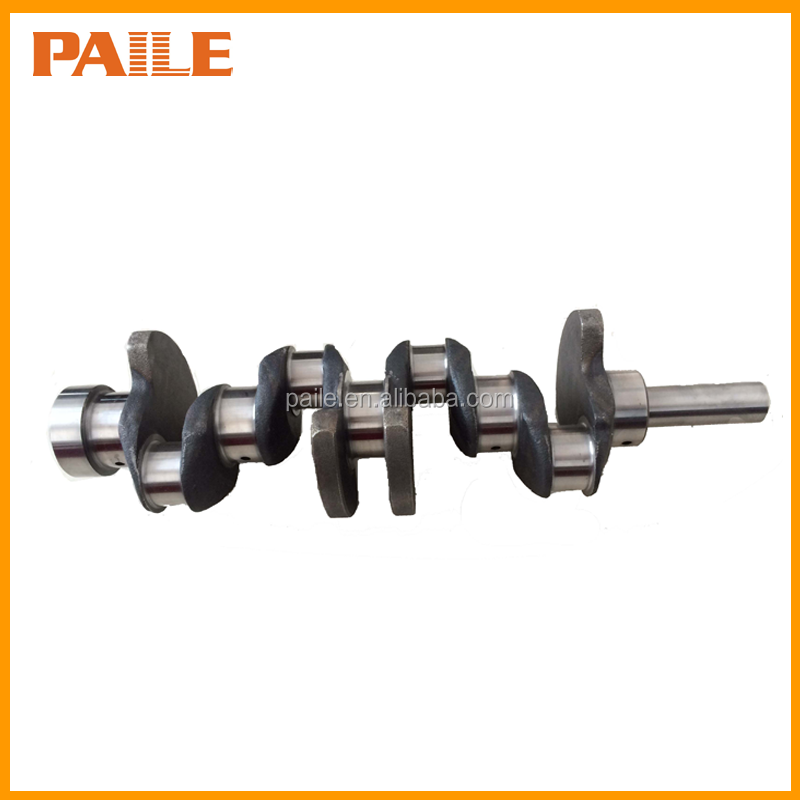 Forged steel and ductile cast iron crankshaft for diesel engine 4K