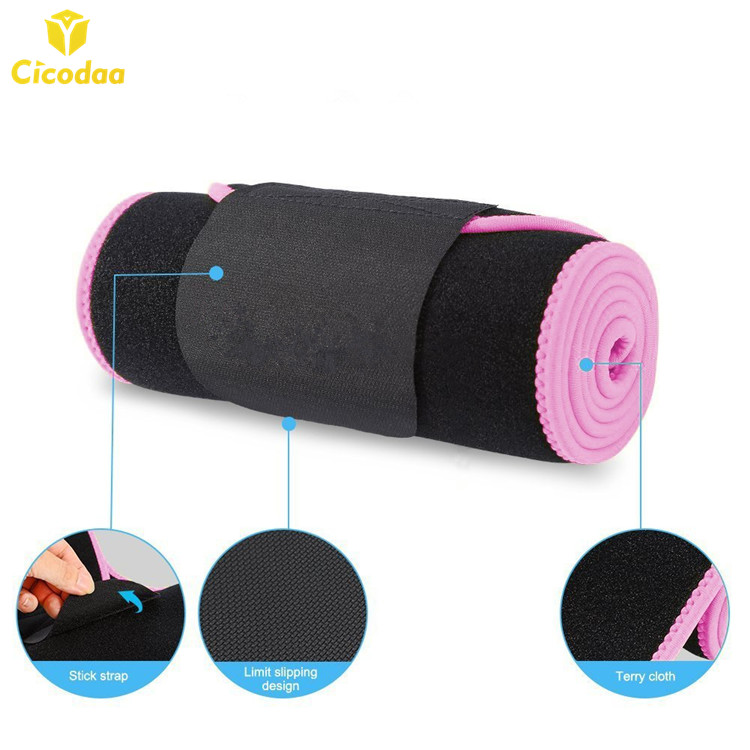 Newest good quality trendy thermal neoprene slimming belt waist trimmer, Black;blue;pink;yellow;red or customized color