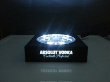 ABSOLUT VODKA acrylic made led bottles glorifier