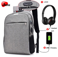 Supermarket Anti-theft Message Laptop Bag For Shopping