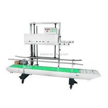 FR-1370AL/L vertical Continuous Band Sealer with height adjustable for aluminum foil bag