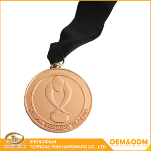 Promotional Wholesale Cheap Metal Blank Sports Medal Souvenir Gifts award Medal Made In China