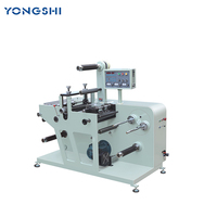Automatic Rotary Label Die Cutter, Rotary Die Cutting Machine With Slitter