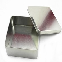 wholesale delicate big rectangle metal tool tin box